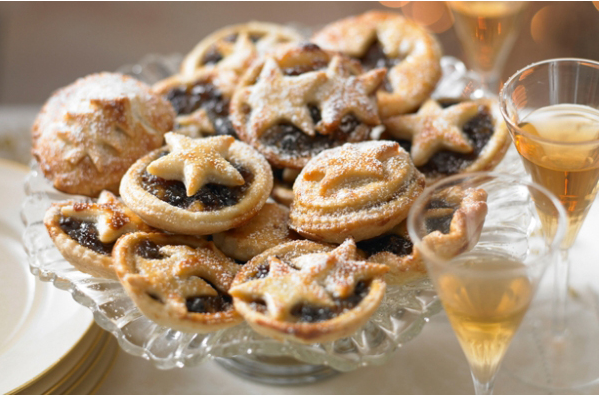 Refreshments, afternoon tea and minced pies at Barrowhill Hall