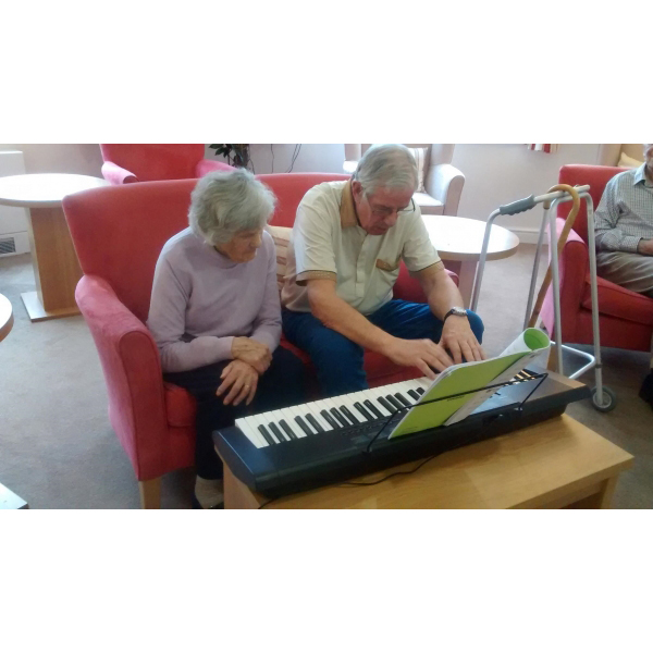 Jennifer returns to her love of music at Churnet Lodge